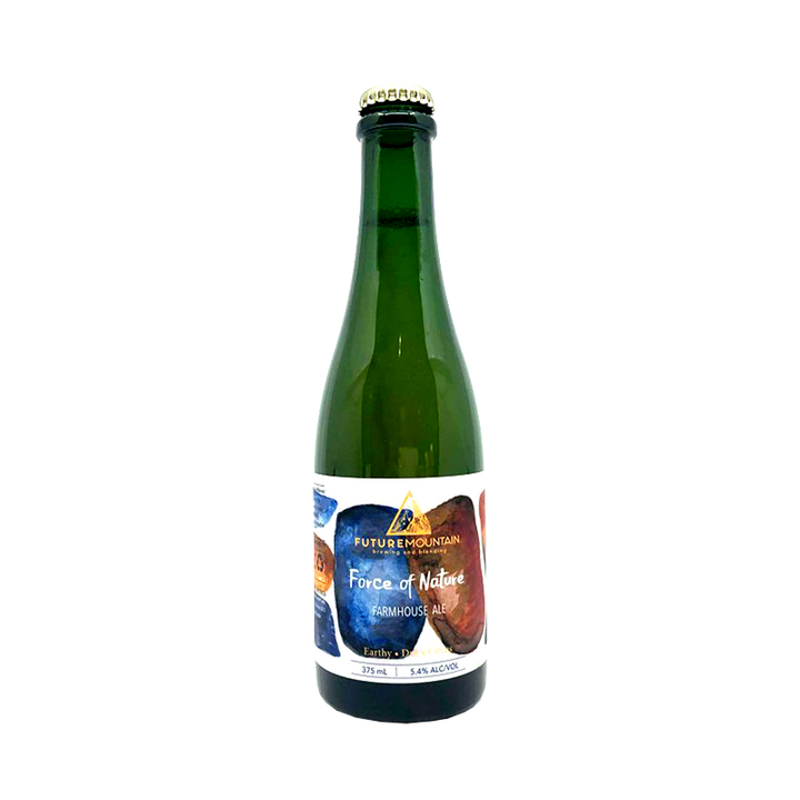 Future Mountain Brewing and Blending - Force of Nature Farmhouse Ale 5.4% 375ml Bottle