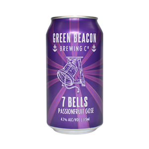Green Beacon Brewing Co - 7 Bells Passionfruit Gose 4.2% 375ml Can