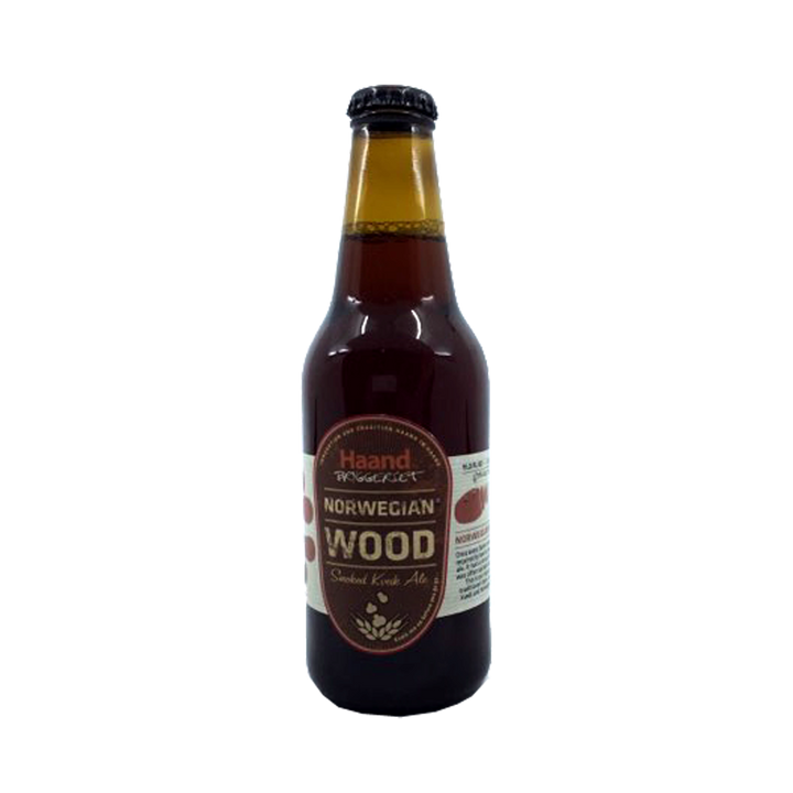 Haand Bryggeriet - Norwegian Wood Smoked Kueik Ale 5% 330ml Bottle