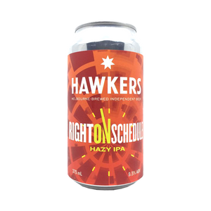 Hawkers - Right On Schedule Hazy IPA 8.5% 375ml Can