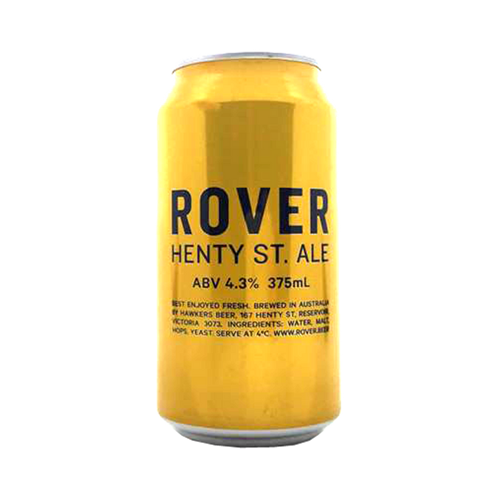 Hawkers - Rover Henty St. Ale 4.3% 375ml Can