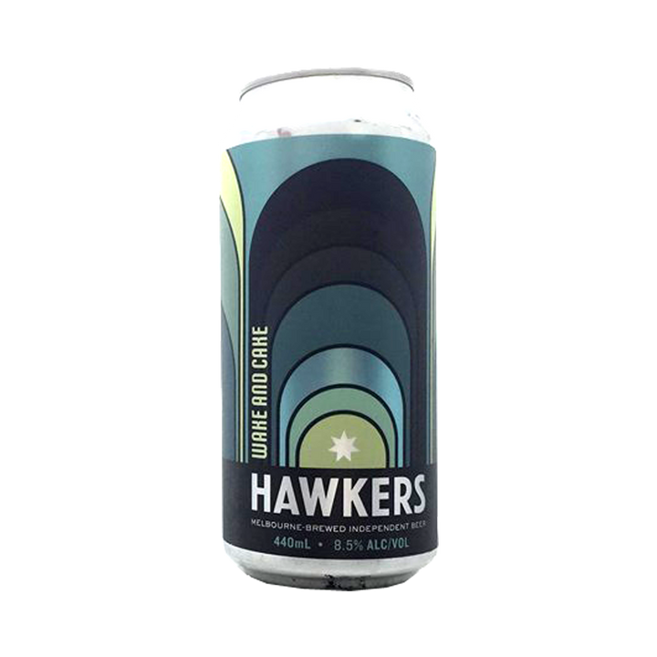 Hawkers - Wake and Cake Pastry Stout 8.5% 440ml Can