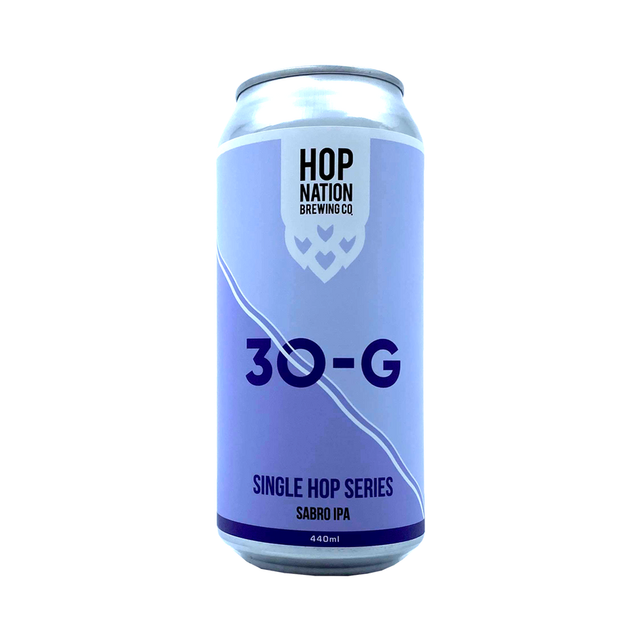 Hop Nation Brewing Co - 30-G Single Hop Series Sabro IPA 7% 440ml Can
