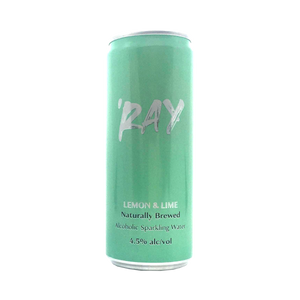 Hop Nation Brewing Co - 'Ray Lemon & Lime Real Fruit Hard Seltzer 4.5% 330ml Can
