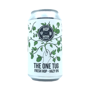 Hop Nation Brewing Co - The One Tug Hazy IPA 6.5% 375ml Can