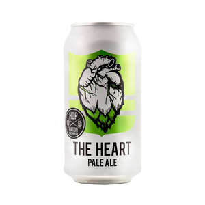 Hop Nation Brewing Co - The Heart Pale Ale 4.6% 375ml Can