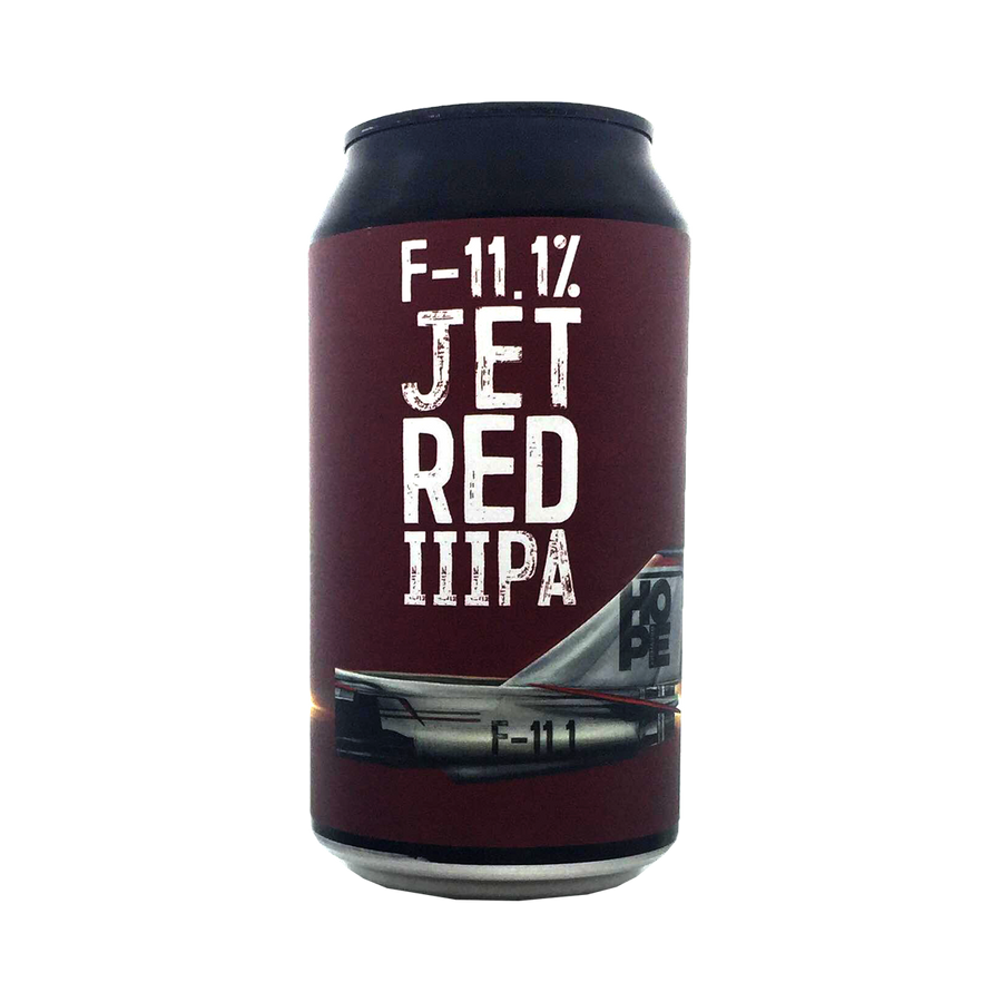 Hope Brewery - F11.1 Jet Red IIIPA 11.1% 375ml Can