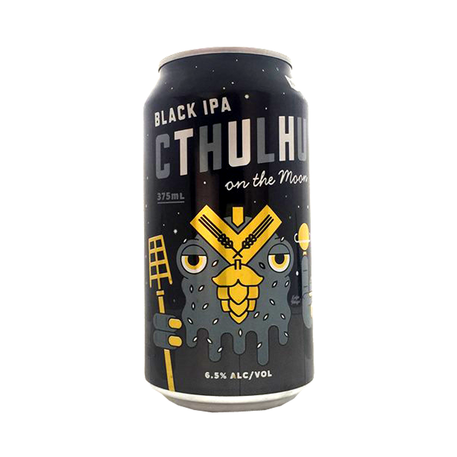 KAIJU! Beer - Cthulhu Black IPA 6.5% 375ml Can