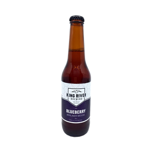 King River Brewing - Blueberry Berliner Weisse 3.5% 330ml Bottle
