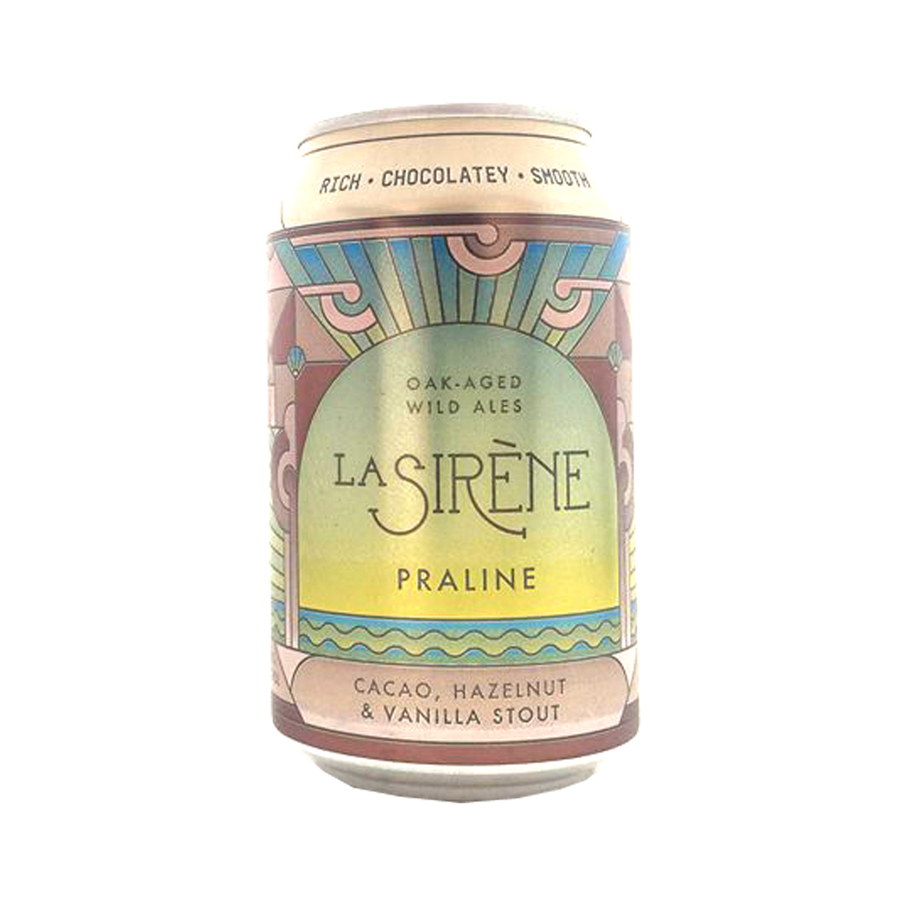 La Sirene - Praline Stout 5.8% 330ml Can