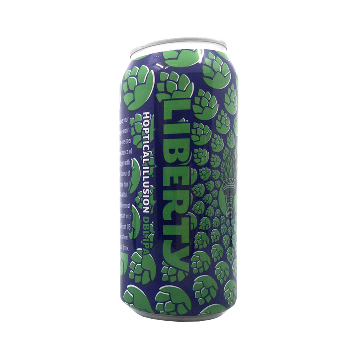 Liberty Brewing Co -  Hoptical Illusion Double IPA 8% 440ml Can