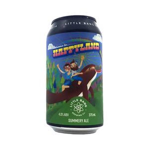 Little Bang Brewing Co - Happyland Summery Ale 4.0% 375ml Can