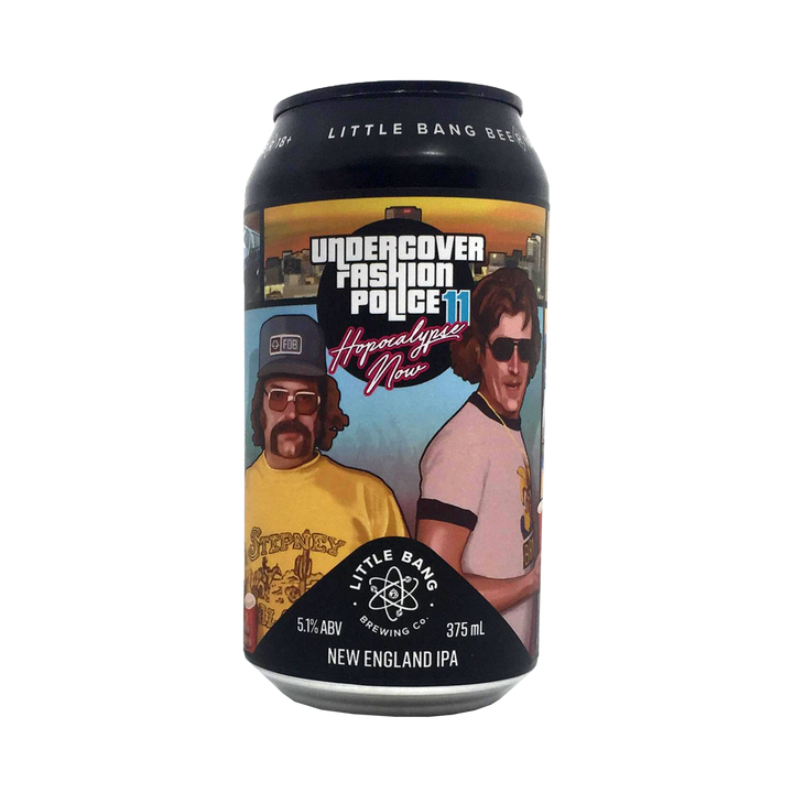 Little Bang Brewing Co - Undercover Fashion Police11 Hopocalypse Now NEIPA 5.1% 375ml Can