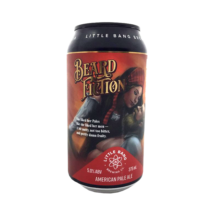 Little Bang Brewing Co - Beard Fiction American Pale Ale - 5% 375ml Can