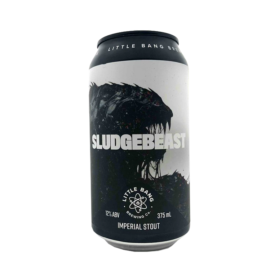 Little Bang Brewing Co - Sludgebeast Imperial Stout 12 % 375ml Can