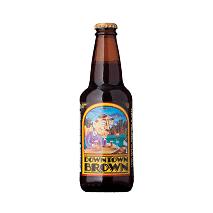 Lost Coast Brewery - Downtown Brown 5% 330ml Bottle
