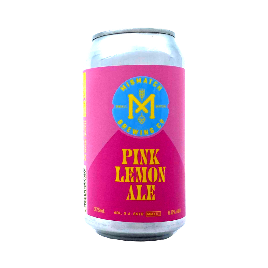 Mismatch Brewing Co - Pink Lemon Ale 6% 375ml Can