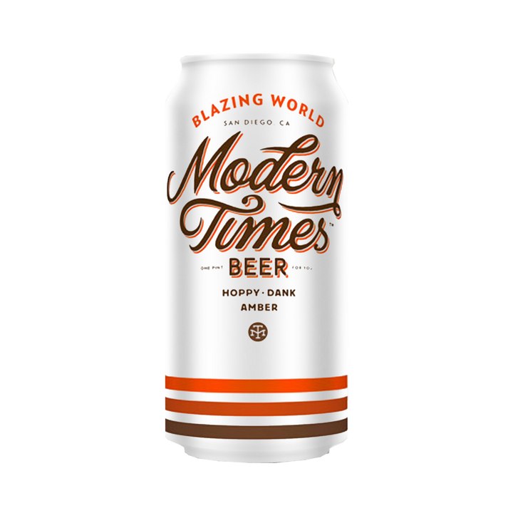 Modern Times Beer - Blazing World Hoppy Dank Amber 6.8% 475ml Can