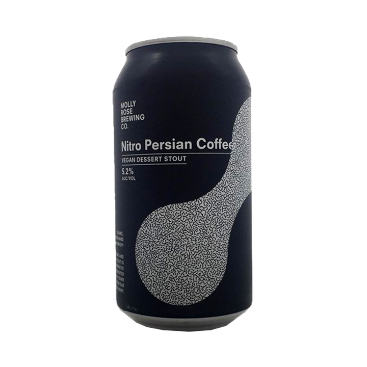 Molly Rose Brewing Co - Nitro Persian Coffee Vegan Dessert Stout 5.2% 375ml Can
