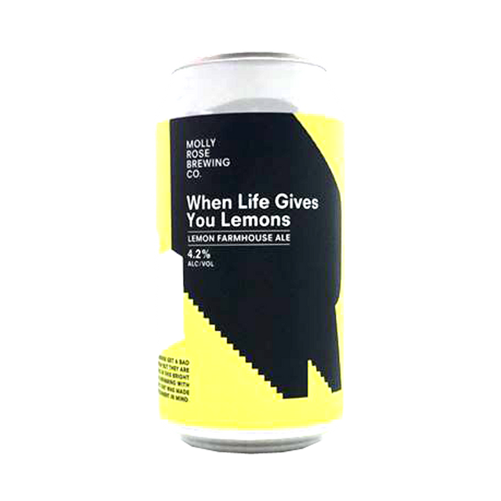 Molly Rose Brewing - When Life Gives You Lemons Farmhouse Ale 4.2% 375ml Can