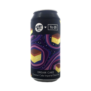 Moon Dog Brewing - Dream Cake Coconut Cake Imperial Dark Ale 8.8% 330ml Can