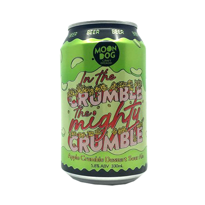 Moon Dog Brewing - In the Crumble the Mighty Crumble Apple Crumble Dessert Sour 5.8% 330ml Can