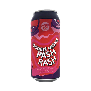 Moon Dog Brewing - Ogden Nash's Pash Rash Raspberry Candy Stout 8.2% 440ml Can