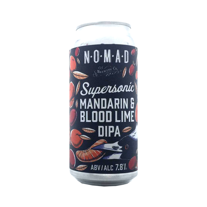 Nomad Brewing Co - Supersonic Mandarin & Blood Lime Double IPA 7.8% 440ml Can