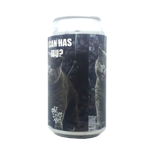Old Wives Ales - I Can Has IBU? Double IPA 8.7% 375ml Can