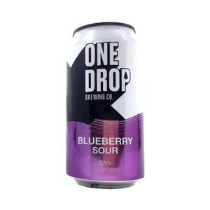 One Drop Brewing Co - Blueberry Sour 5.5% 375ml Can