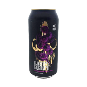 One Drop Brewing Co - Blueberry & Choc Muffin Nitro Imperial Pastry Stout 10.9% 440ml Can