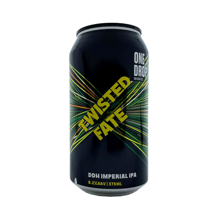 One Drop Brewing Co - Twisted Fate DDH Imperial IPA 8% 440ml Can