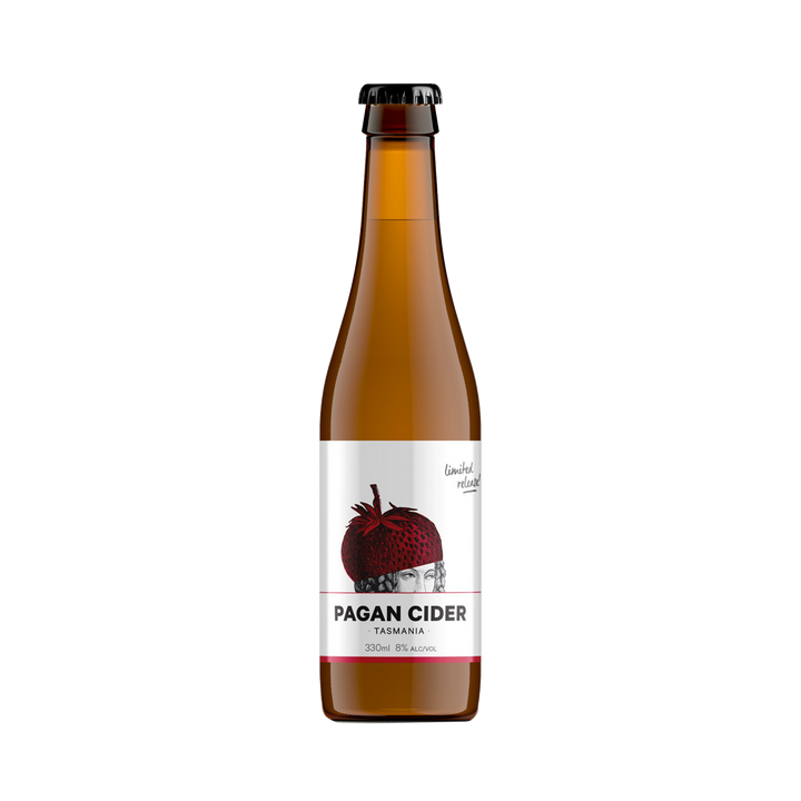Pagan - Strawberry Cider 8% 330ml Bottle