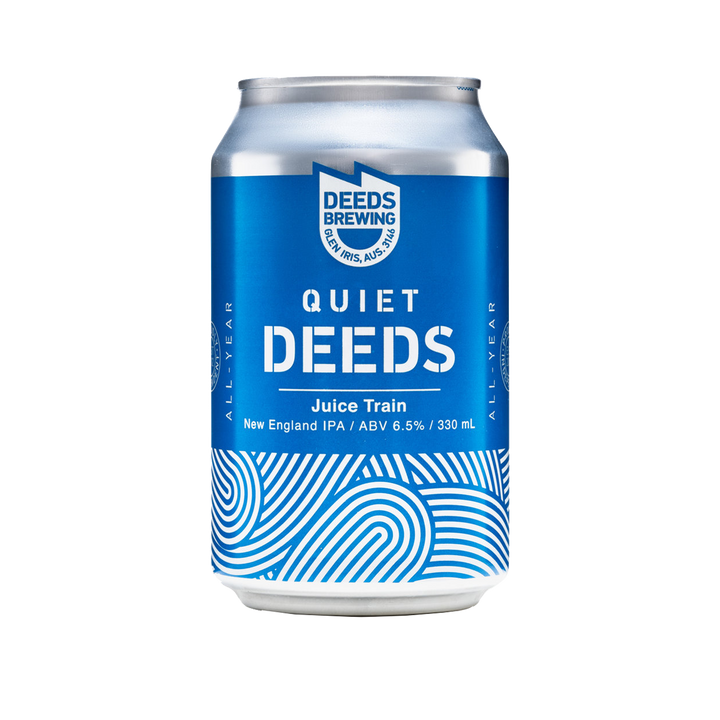 Quiet Deeds Brewing - Juice Train New England IPA 6.5% 330ml Can