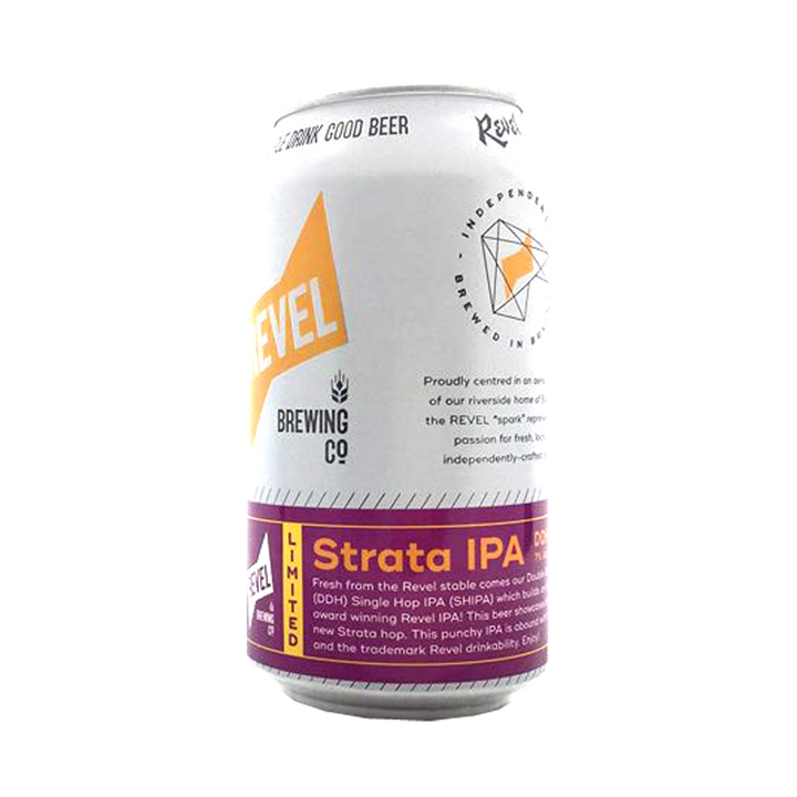 Revel Brewing Co - Strata DDH IPA 7% 375ml Can