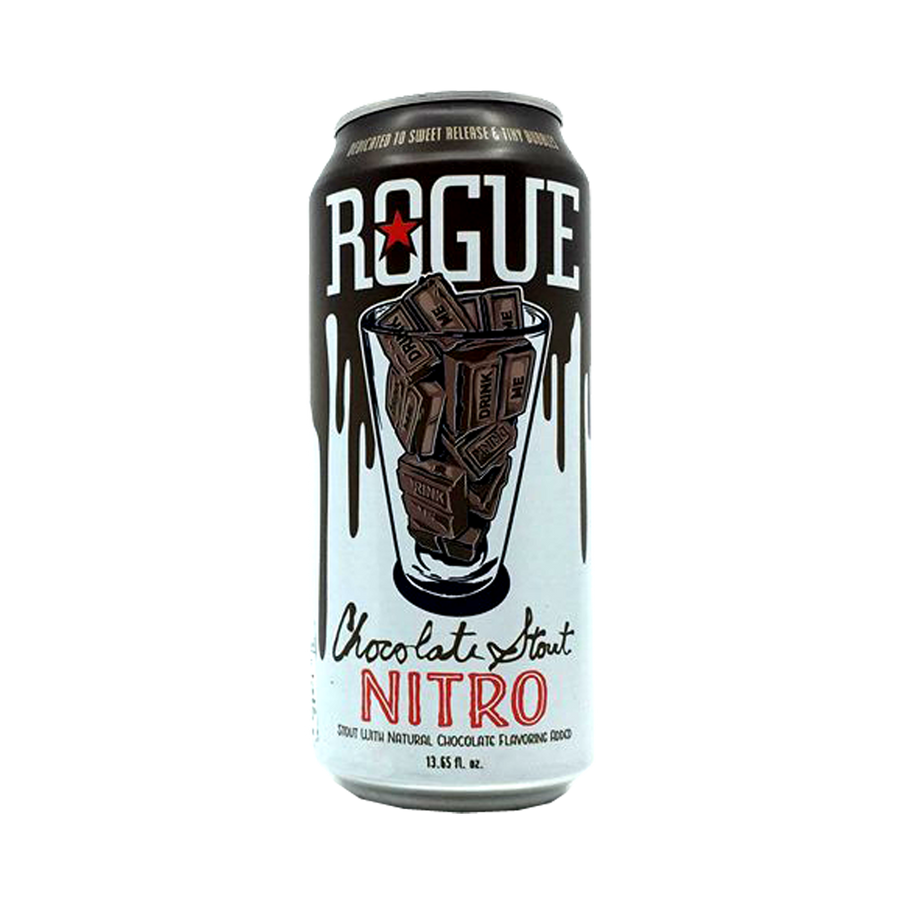 Rogue Brewing - Nitro Chocolate Stout 5.8% 473ml Can