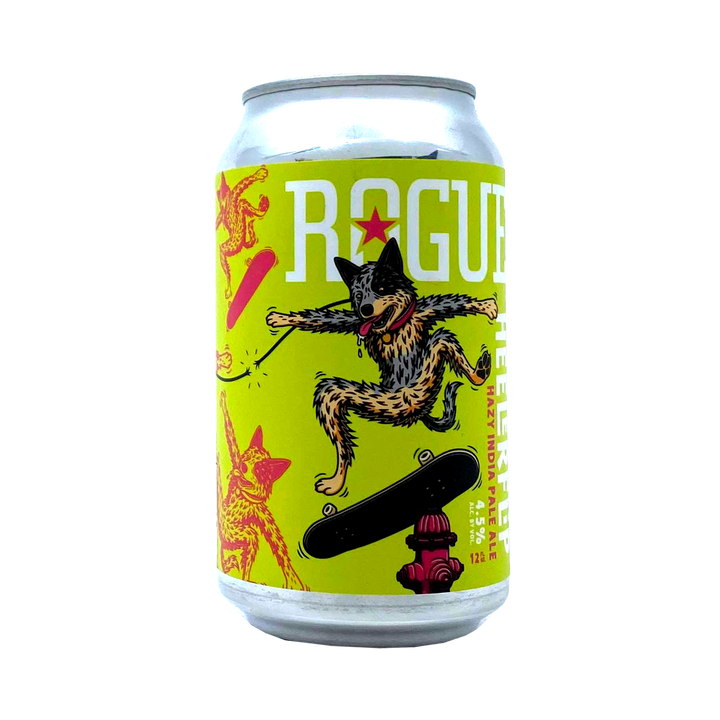 Rogue Brewing - Heeler Flip Hazy IPA 4.5% 355ml Can