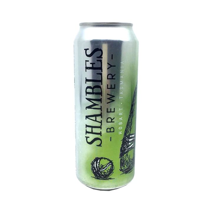 Shambles Brewery - Baggy Green Session IPA 4.5% 500ml Can