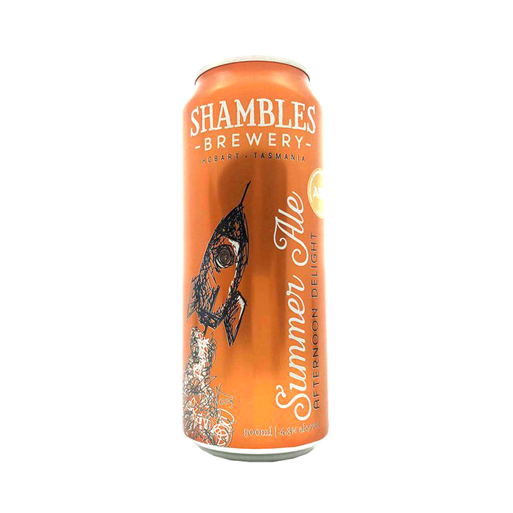 Shambles Brewery - Afternoon Delight Summer Ale 4.3% 500ml Can
