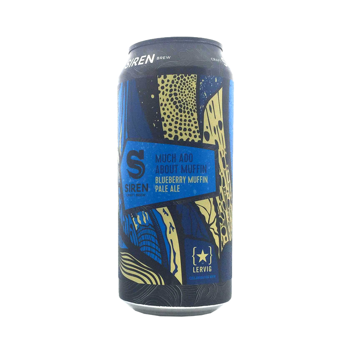 Siren Craft Brew - Much Ado About Muffin Blueberry Muffin Pale Ale 5.5% 440ml Can
