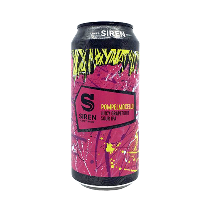 Siren Craft Brew - Pompelmocello Sour IPA 6% 440ml Can