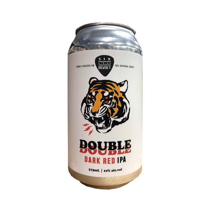 Six String Brewing Co - Double Dark Red IPA 10% 375ml Can