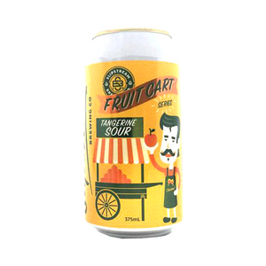 Slipstream Brewing Co - Fruit Cart Tangerine Sour 3.5% 375ml Can