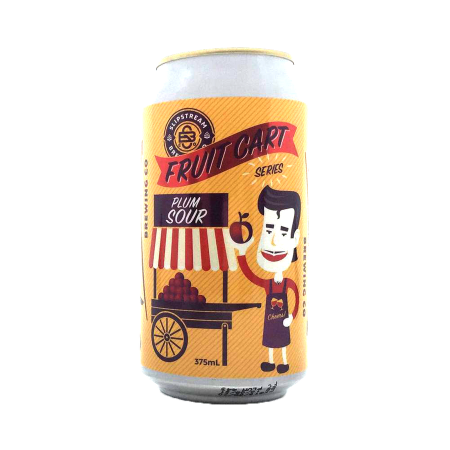 Slipstream Brewing Co - Fruit Cart Plum Sour 3.5% 375ml Can