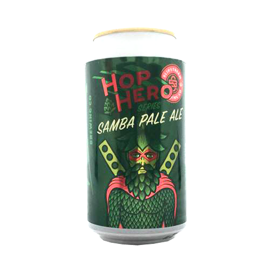 Slipstream Brewing Co - Hop Hero Series Samba Pale Ale 4.7% 375ml Can