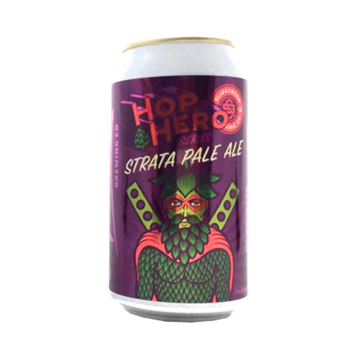 Slipstream Brewing Co - Hop Hero Series Strata Pale Ale 4.7% 375ml Can