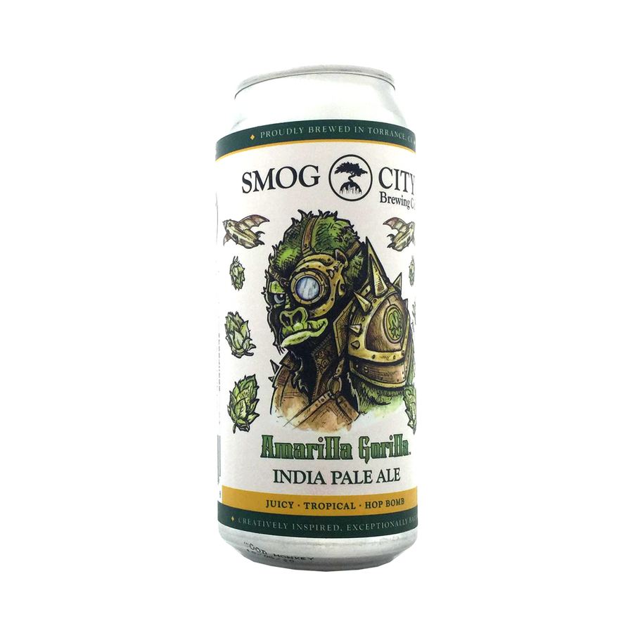 Smog City Brewing Co - Amailla Gorilla IPA 7.4% 473ml Can