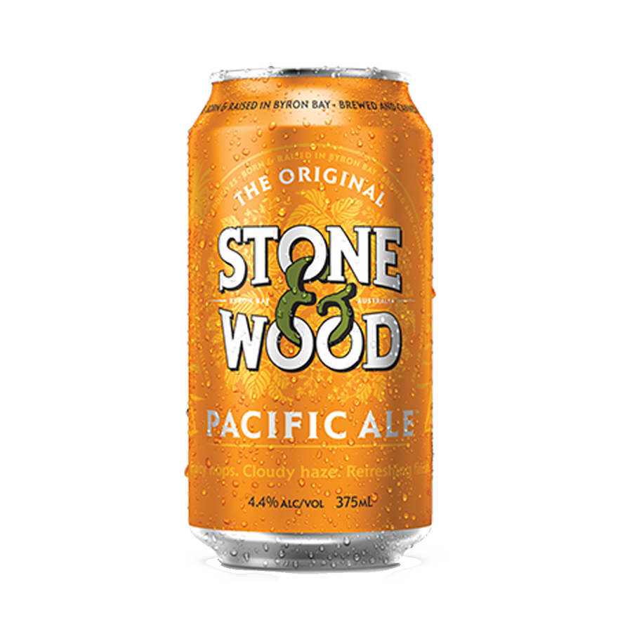 Stone & Wood Brewing Co - Pacific Ale 4.4% 375ml Can