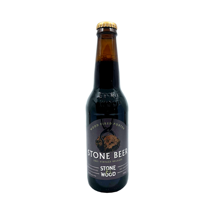 Stone & Wood Brewing Co - 2020 Stone Beer Wood Fired Porter 7.2% 330ml Bottle