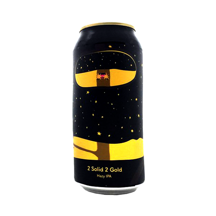 Tallboy and Moose Make Beer - 2 Solid 2 Gold Hazy IPA 6.5% 440ml Can